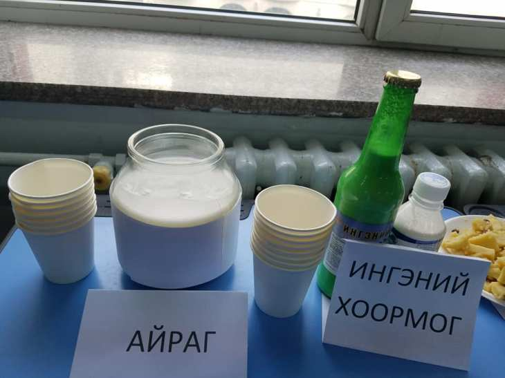 airag and camel milk