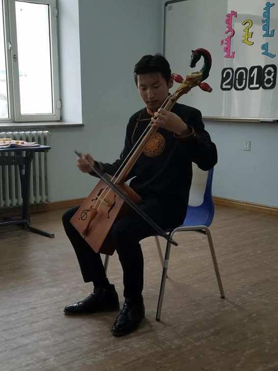 Morin Khuur (horsehead fiddle)